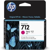 Encre HP Magenta N° 712 - 29 ml Pour DesignJet Studio, T210, T230, T250, T630 - 3ED68A