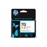 Encre HP Jaune N° 712 - 29 ml Pour DesignJet Studio, T210, T230, T250, T630 - 3ED69A
