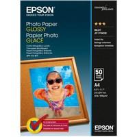 Epson - Papier photo brillant - A4 (210 x 297 mm) - 200 g/m2 - 50 feuille(s) - pour Expression - C13S042539