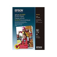 Paper/Value EPSON Glossy Photo A4 50sh - C13S400036