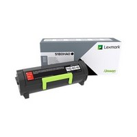 Toner Lexmark Noir MS/MX 417 pour MS417dn, MX417de - 51B0HA0