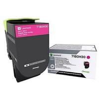 Toner Lexmark Magenta 71B0H30 pour 'CS417dn / CX417de - 71B0H30