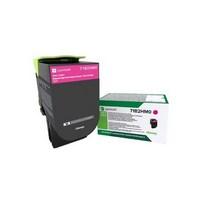 Toner Lexmark Magenta 71B2HM0 pour CS417dn / CS517de / CX417de / CX517de - 71B2HM0
