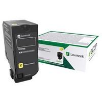Standard LEXMARK Yellow Return Toner Cartridge - 73B20Y0