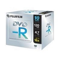 Spindle de 10 DVD-R  Fujifilm 4.7 Go 16x RC 27808 - 47588