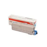 TONER OKI Cyan C532 MC573 6K  - 46490607