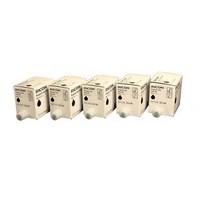 Ricoh - Pack de 5 - 600 ml - noir - originale - boîte - cartouche d'encre - pour Ricoh CP6244+, - 817225