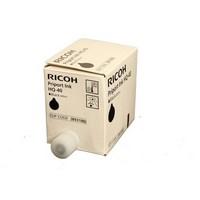 Encre Ricoh Noir - 893188/817225 - RPINKJP4500 pour DX4542, JP4500 - 5 x 600 ml - 893188