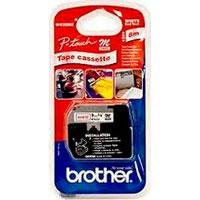 Brother MK222 - Ruban plastique - rouge sur blanc