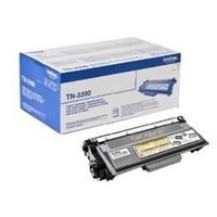 Toner Brother Noir pour DCP 8250DN/HL-6180DW/6180DWT - TN3390P