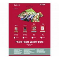 Canon Variety Pack VP-101 - Kit papier photo - 100 x 150 mm 15 feuille(s) - 0775B078