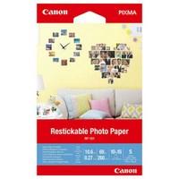 Papier photo Canon repositionnable RP-101 - Mat - adhésif amovible - 10,6 millièmes de pouce - - 3635C002