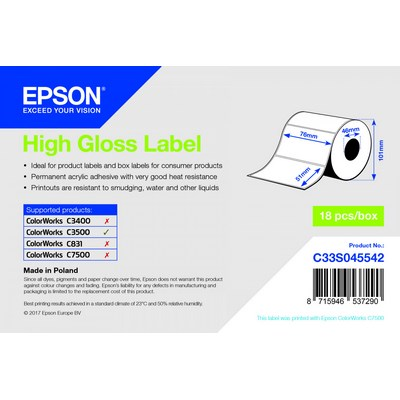 EPSON - Réf. : C33S045542
